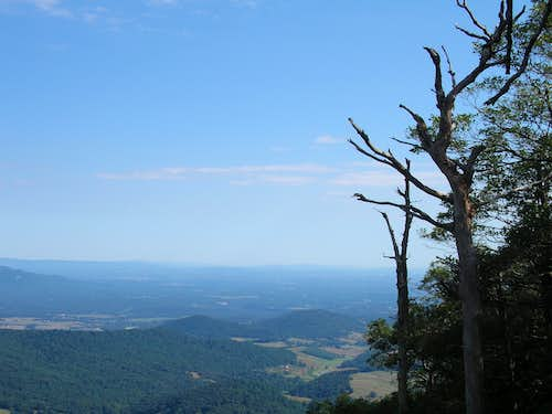 Looking over the Shenandoah Valley