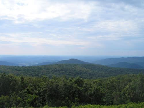 Fork Mountain in the Distance