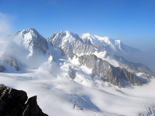 Summit view from Aiguille du Tour