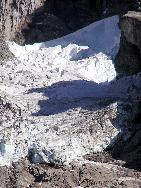 The Pra Sec glacier