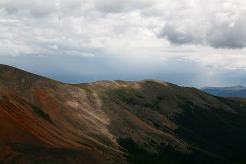 SE Ridge of Red Cone