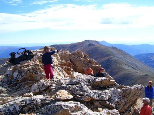 Labor Day Weekend 2007:    Colorado 14ers