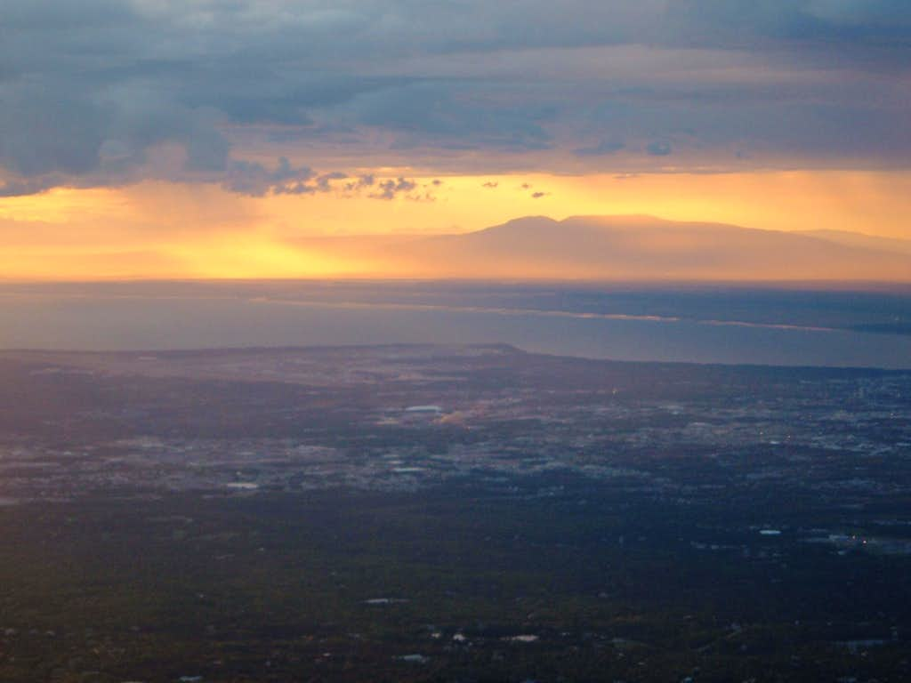 Sunset over Susitna