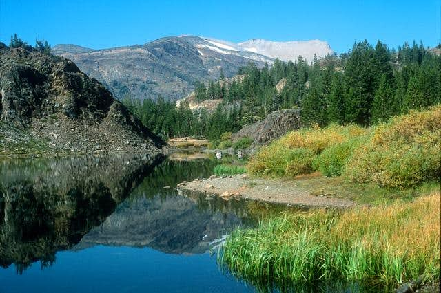 View towards White Mountain...