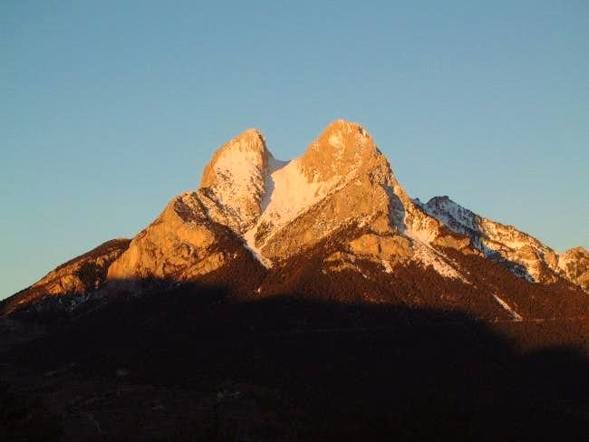 Pedraforca from the East....