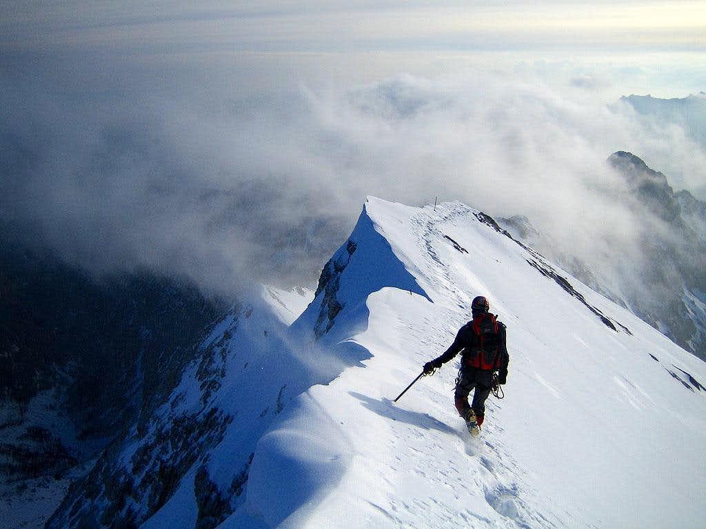 Daniel on the ridge