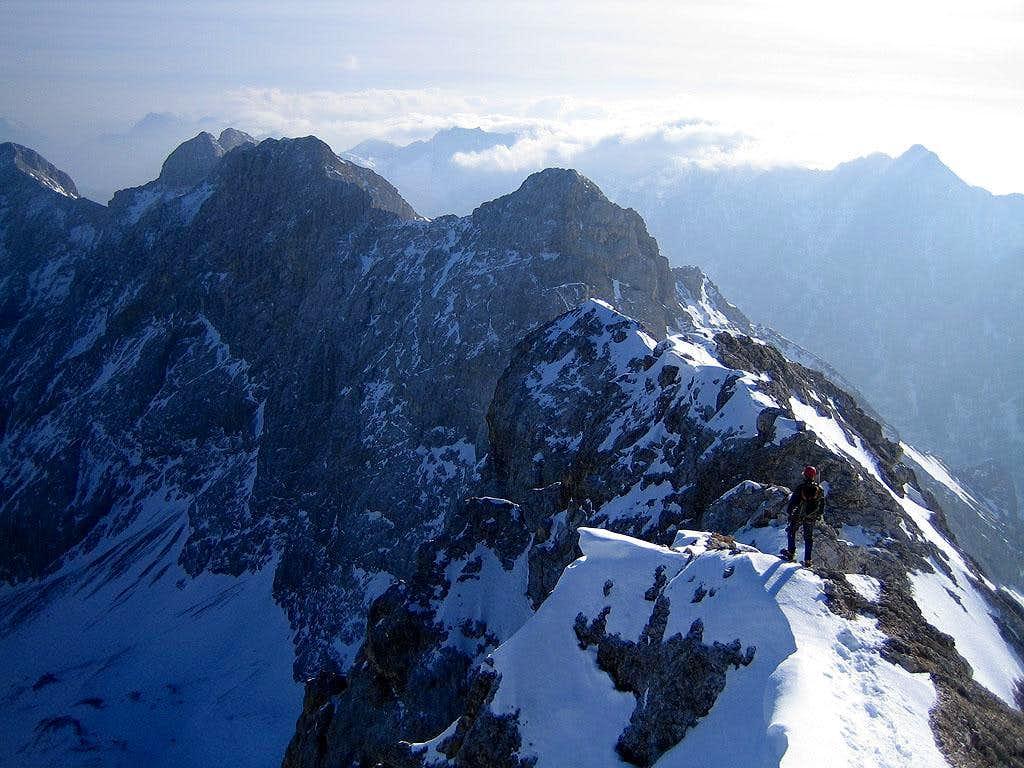 A dozen peaks before us...