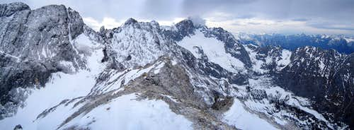 Back to the Zugspitze