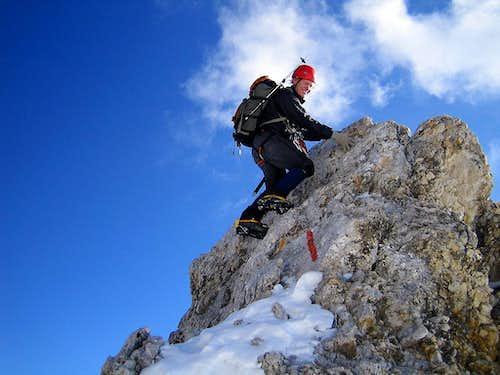 Nice rock on the Jubigrat