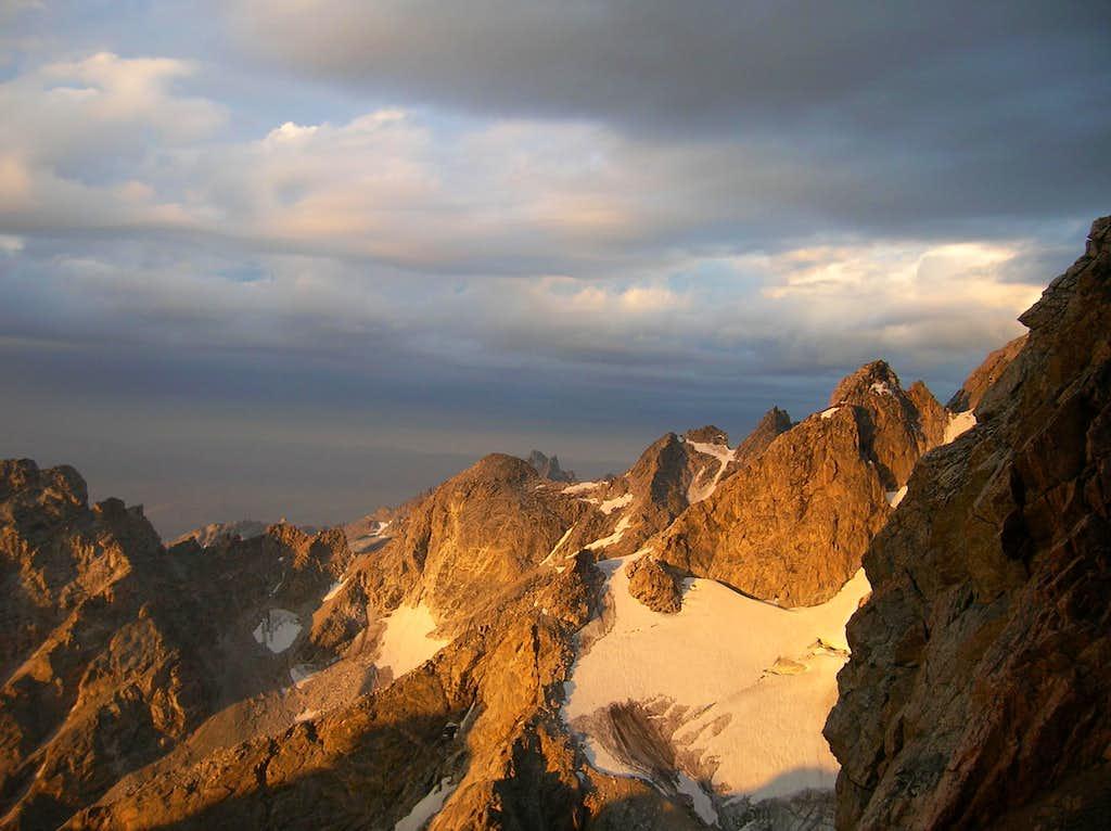 Cloudveil Dome Alpenglow