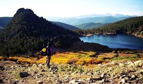 Fox Mountain (10,921') and...