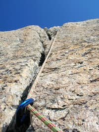 Splitter Crack on the East Face