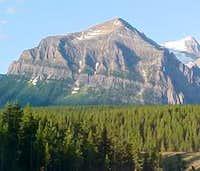 Mount Fairview in summer.