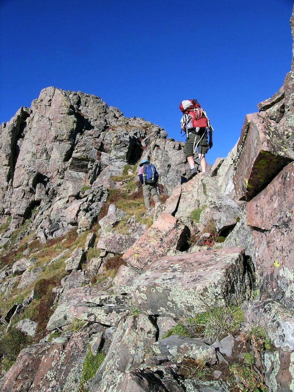 NE Ridge on Mount Adams