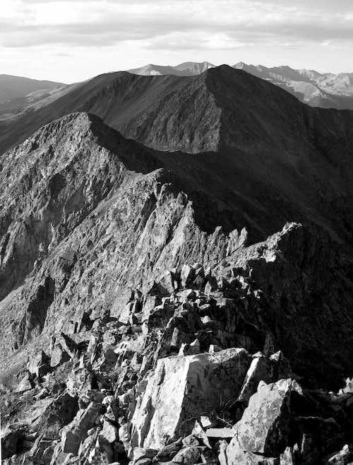 Peak 2- Peak 4 Ridge