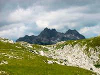 on the way to Šljemena peak