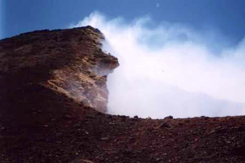 This is the Pacaya volcano's...