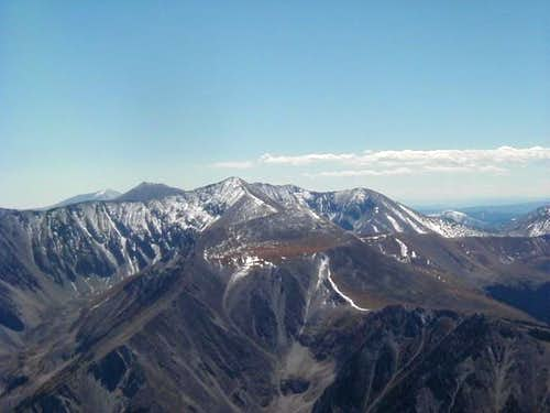 Mt. Antero seen from the...