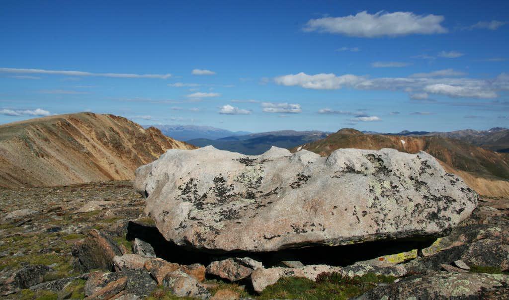Quartzite on Landslide Peak