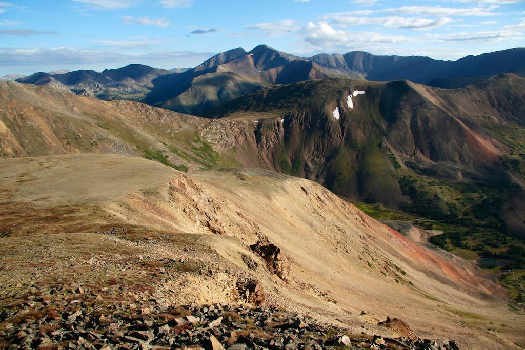 Sullivan Mountain-- Summit View