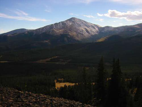 Mount Silverheels from near...
