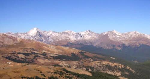 Quandary Peak and the Tenmile...