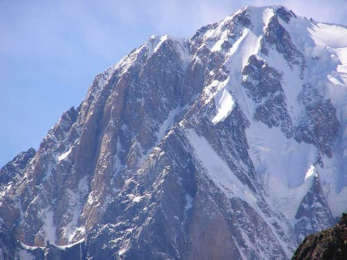 The Freney Pillars and the Peuterey Ridge