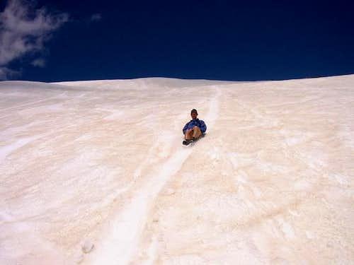 The joys of climbing James...