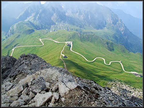 Passo Giau from Ra Gusela