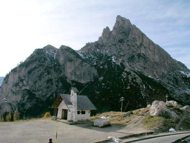 Sasso di Stria (2477 m) near...