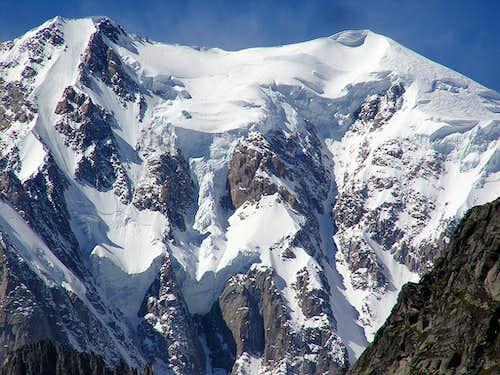 Mont Blanc Brenva side