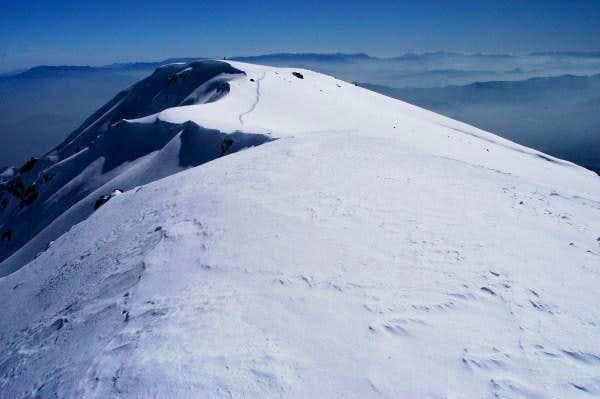 Cerro Provincia Summit Ridge-Chilean Andes