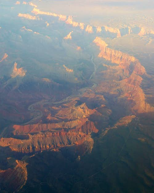 Escalante Route from the Air