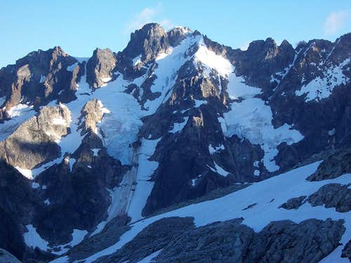 Mount Fury Attempt on Northwest Face