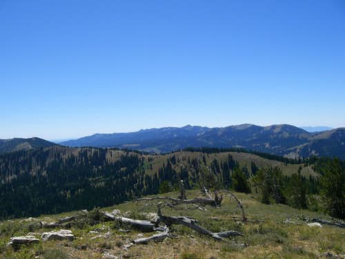 Bear River Range from Cub Peak