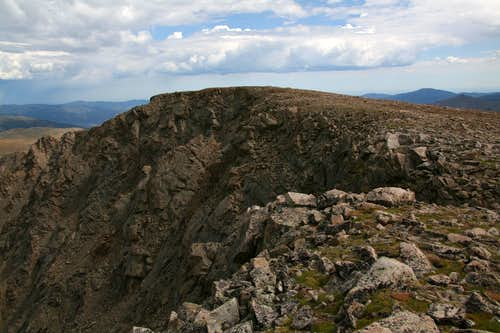 McClellan Mountain-- The summit