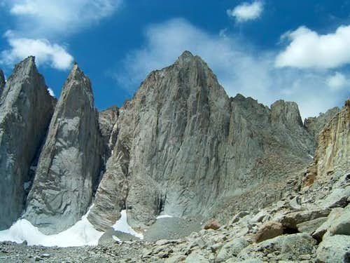 Mount Whitney from the North...