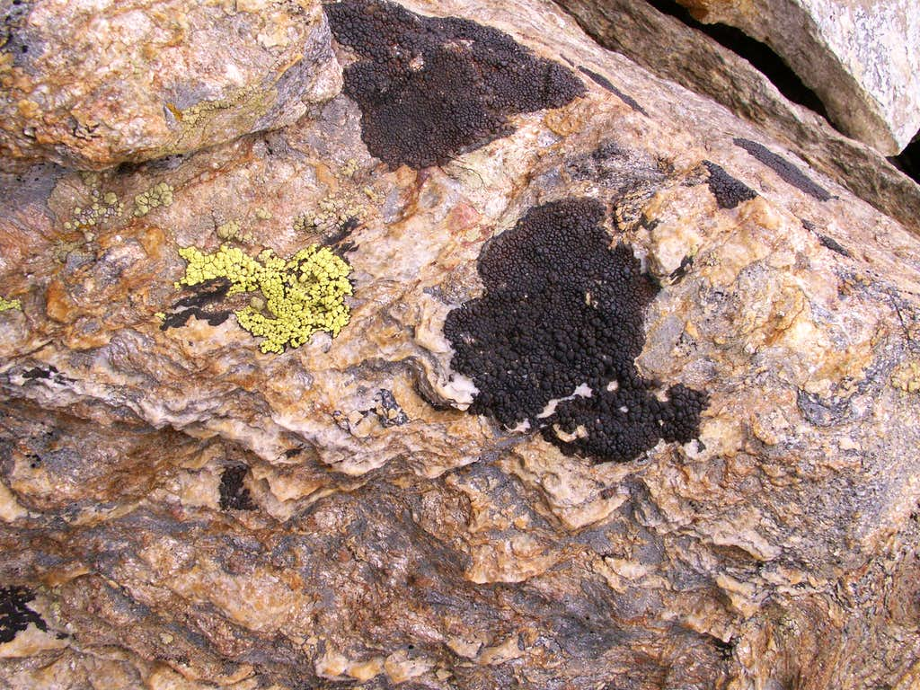 Gneiss rocks and ...
