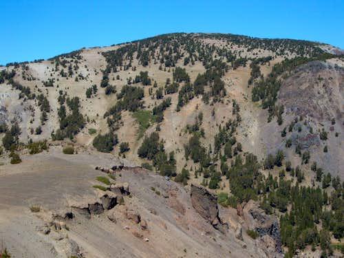 Mount Houghton from Tamarack's north ridge