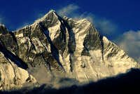 the famous south face of Lhotse