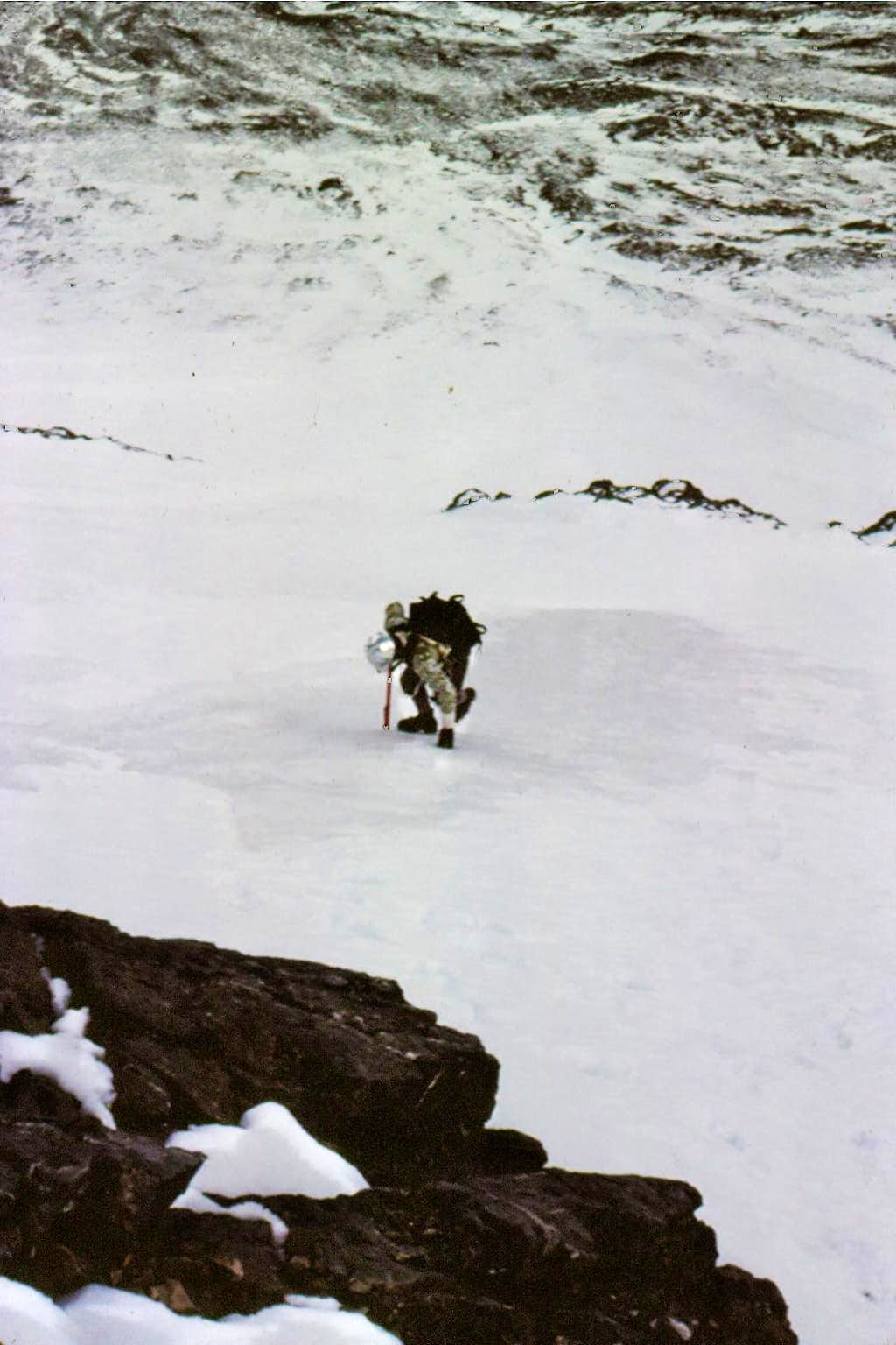 Lower North Face - Mt Borah