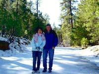 Atop Arizona's Mogollon Plateau