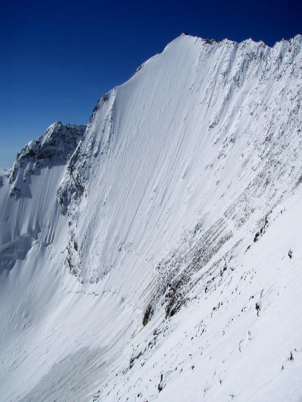 Lenzspitze northface