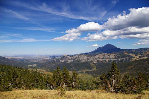 West Spanish Peak & Cucharas Valley