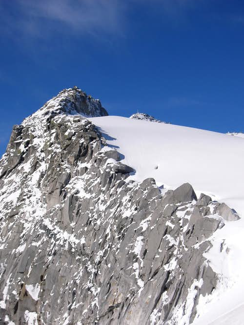 Italian Normal route - NE ridge