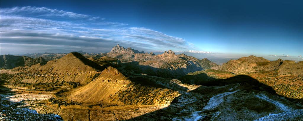 Teton Range from the southwest