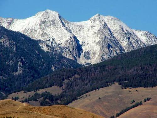 Sacajawea Peaks