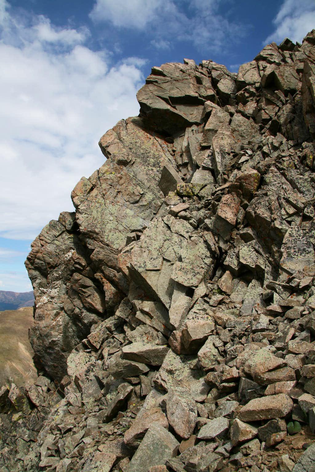 McClellan Mountain-- West Face