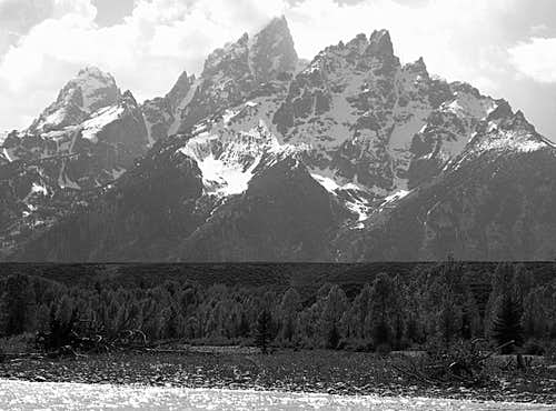 Tetons in late Spring
