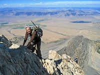 Climbing the Ridge.